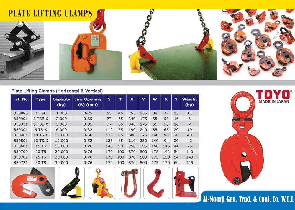 Plate Lifiting items Kuwait